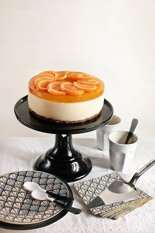 ¿Tarta? ¡Sí, de naranja y tutti frutti!