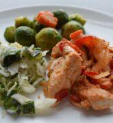 Recetas para el almuerzo con comida de mar